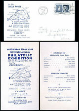Duluth, MN ~ DUPEX '64 Arrowhead Stamp Club show cover w insert ~ July 17, 1964.