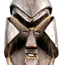 Art Africain Ethnographique Tribal - Impressionnant Masque Kran - 30 Cms +++++++