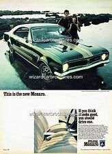 1969 HOLDEN HT MONARO GTS 350 A3 POSTER AD ADVERT ADVERTISEMENT SALES BROCHURE