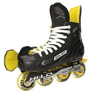 Bauer RS Inline Hockey Skates Junior R Bauer-Skate-Größe Skate-Weite