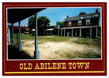 Old Abilene Town postcard photo by John Avery
