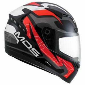 AGV MDS M13 Combat Red Motorcycle Motorbike Helmet