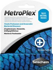 Seachem Metroplex Effective Safe Treatment Bacterial Diseases 5 grams