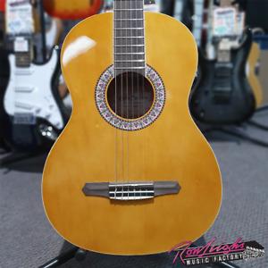 Gypsy Rose GRC1KNA 7/8 Size Nylon String Classical Guitar Natural