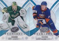 13-14 UD Ice Brock Nelson /999 Rookie Premieres 2013 Upper Deck Islanders