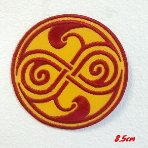 Doctor Who Seal of rassilon Iron on Sew on Patch