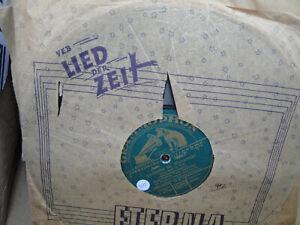 Konvolut Schellackplatten für Grammophon