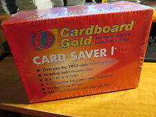 200x Cardboard Gold Box CARD SAVER I Semi-Rigid Storage PSA Grading CS1 Case 1