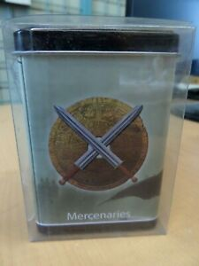 Rook Warlord MERCENARIES SAGA of the STORM Brand New Card Deck Box Metal