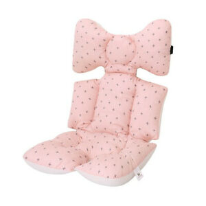 Double Sided Baby Stroller Seat Cushion Liner Thick Pushchair Car Pillow Pad Mat