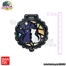ORIGINAL Sailor Moon Makeup Beauty Stained Mirror Capsule Toy - Luna & Artemis