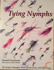 TYING NYMPHS By Kaufmann Randall Fly Tying, Fly Fishing, PACKED Color PHOTOS