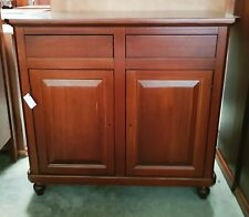 Cupboard With 2 Doors And 2 Drawers, Walnut (511)