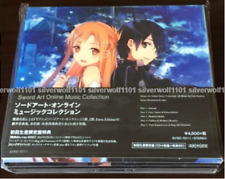 Sword Art Online Music Collection First Limited Edition Soundtrack 4 CD+Blu-ray