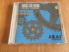 ORIGINAL AKAI S3000 CD3000 CD ROM FACTORY LIBRARY VOLUME 1XL(no s1000 no s6000)