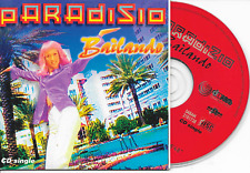 PARADISIO - Bailando CD SINGLE 2TR Cardsleeve 1996 Eurodance Arcade