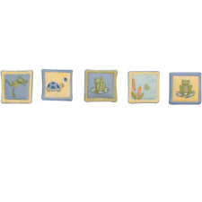 Kids Line Leap Froggie Wall Hanging (Set of 5) (Discontinued by Manufacturer)