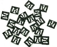 Windshield or Rear Window Molding Trim Clips For 71-93 Ford (Qty-20 Clips) #124