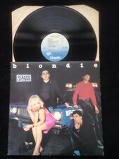 Blondie - Plastic Letters (Denis etc) Vinyl LP US Chrysalis CHR 1166 (1978)