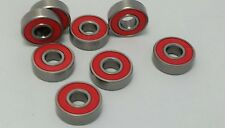 Skateboard SWISS ABEC PRECISION Wheel Bearings. 8mm. Set of 8 Bearings. IN AUS