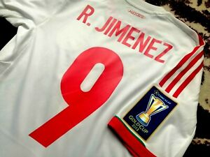Jersey mexico Raul Jimenez adidas 2013 Formotion (S) Gold Cup player issue fit