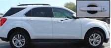 Carbon Fiber Door Handle Scratch Protector Guard Trim Fits Chevrolet Equinox 4pk