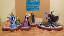 "WDCC Sleeping Beauty Christening Scene ""An Uninvited Guest"" signed Very Limited"