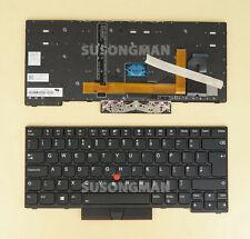 UK Keyboard For Lenovo ThinkPad T480S T490 T495 L380 L390 L480 Laptop Backlit