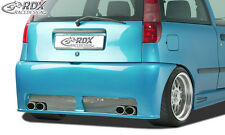 RDX Stoßstange FIAT Punto 1 176 Heck Schürze Hinten Spoiler Tuning Diffusor