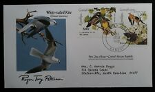 1985 Central African Rep. Birds 200th Anniv Birth of John J Audubon FDC 2 stamps