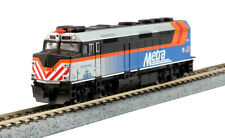 KATO 1769105 N F40PH Chicago Metra 174 w Ditch Lt Fox River Grove 176-9105