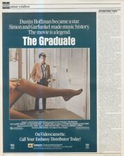 "(Sfbk2) Poster/Advert 14X11"" The Graduate - Dustin Hoffman"