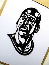 """Michael Jordan, ORIGINALE POP ART, 3 """"X 5"""" pollici, Vinile Decalcomania Adesivo Ritratti"""
