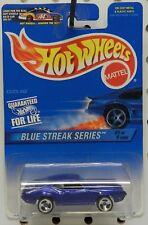 1969 OLDS OLDSMOBILE 442 CUTLASS BLUE STREAK 1 573 GM PURPLE HW HOT WHEELS
