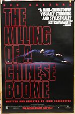 The KILLING of a CHINESE BOOKIE '91 ORIGINAL ROLLED  movie poster 20 % OFF