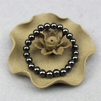 1pc Weight Round Black Stone Bracelet Health Care Magnetic Therapy Bracelet Best