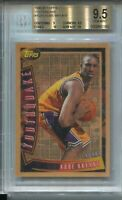 1996 Topps Youthquake YQ15 Kobe Bryant Rookie Card RC Graded BGS Gem Mint 9.5