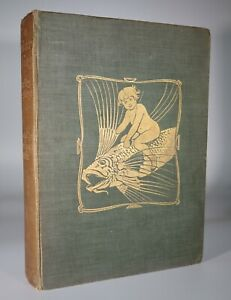 1909 The Water Babies A Fairy Tale KINGSLEY 32 Tipped in Plates by Warwick Goble
