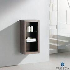 wood gray bath storage cabinets for sale ebay rh ebay com
