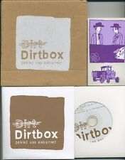 DIRTBOX Drains and Radiators - 2003 UK CD in card box - Tunng - Ltd. ed. of 1000