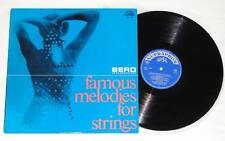 BERO POPS ORCHESTRA Famous Melodies For Strings LP Vinyl Easy Listening 1967