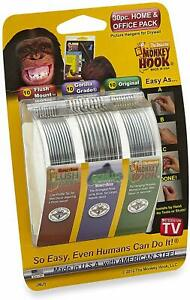 Monkey Hooks Picture Hangers Home And Office Pack, Gorilla Hook, Drywall Hooks F