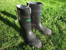 RUBBER BOOTS STEEL TOE 4 MEN'S SMALL NWT ACTON QUEBEC CSA APPROVED UK 2 EUR 35