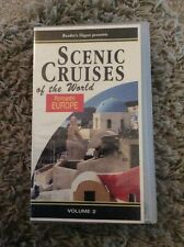 READERS DIGEST VIDEO SCENIC CRUISES OF THE WORLD ROMANTIC EUROPE