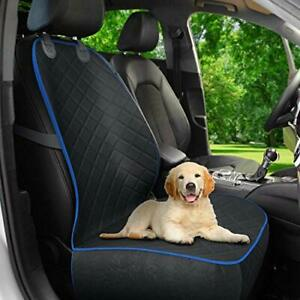 Active Pets Front Seat Dog Cover, Durable Protector Against Mud & (Blue)