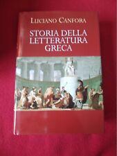 Storia della letteratura greca - Luciano Candora / Laterza