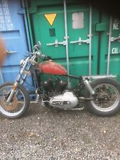 1975 Harley XLH1000 Ironhead Sportster Project Matching Numbers see Photos Etc