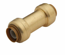 SharkBite  1/2in Sharkbite X 1/2in Sharkbite  Brass  Spring Loaded  Check Valve