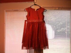 Red Girls Dress