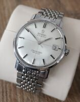 Omega Seamaster Deville Crosshair Vintage Men's Watch 1965 Serviced + Warranty
